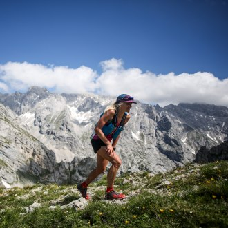 Einzelne Läuferin, © Phillip Reiter