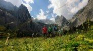 Höllentalanger mit Blick auf Zugspitze, © Touristinformation Grainau - Foto Ehn