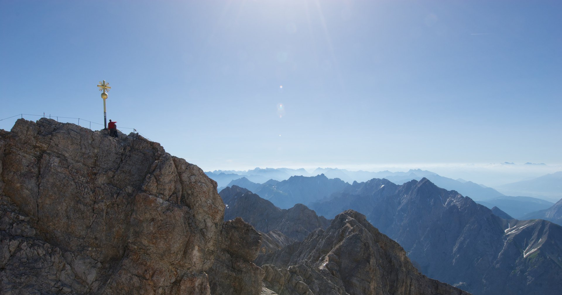 Zugspitze Peak, © Bayerische Zugspitzbahn Bergbahn AG, Benedikt Lechner