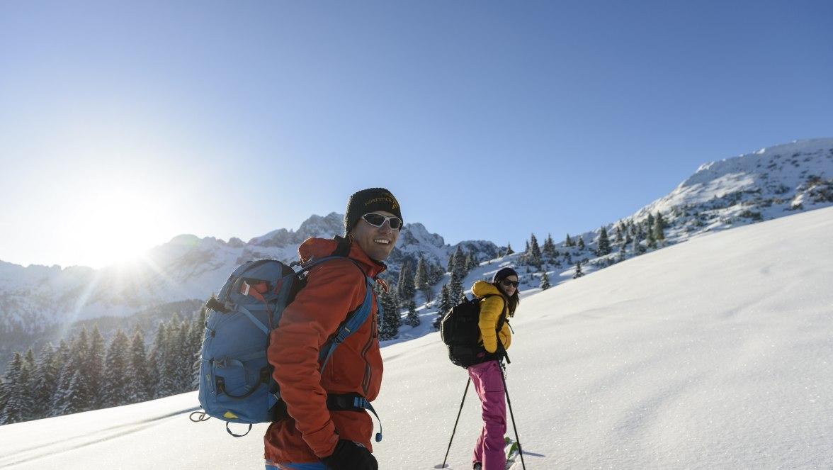 Ski tours in the Zugspitz village Grainau, © ZugspitzRegion - Foto W. Ehn