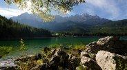 Eibsee mit Bergblick, © Tourist-Infomation Fotogtaf Ehn