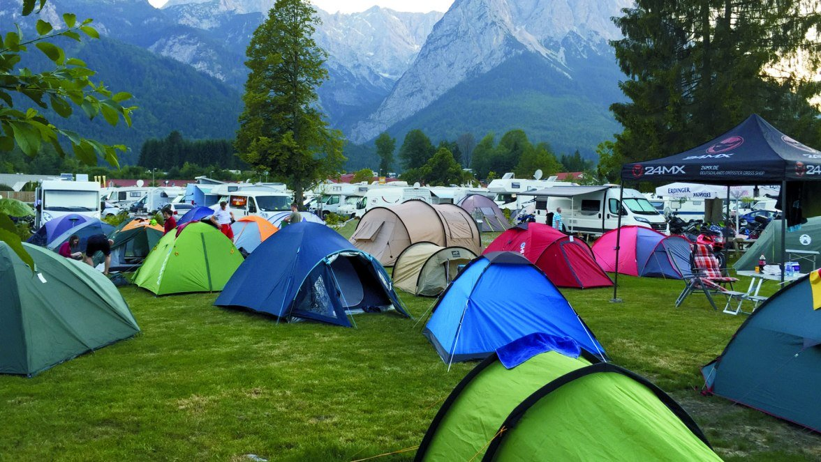 Tent campers campsite***, © Camping Erlebnis Zugspitze