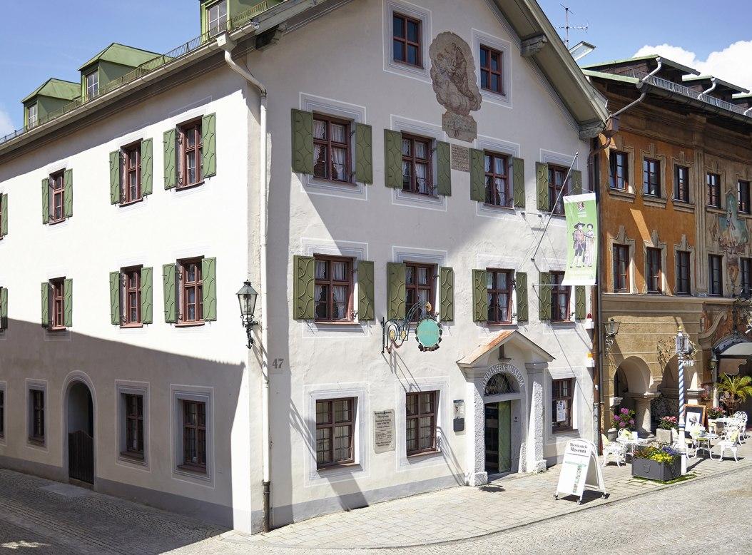 Außenansicht Heimatmusem, © Landkreismuseum Garmisch-Partenkirchen