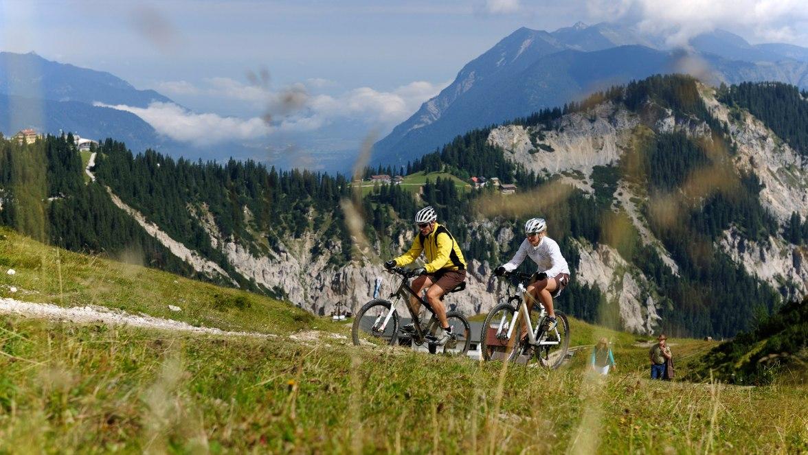 Mountainbiken in Grainau, © Touristinformation Grainau - Foto Ehn