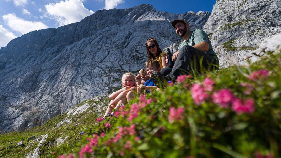 Familienzeit - Wandertouren, © Zugspitzdorf Grainau - EHN