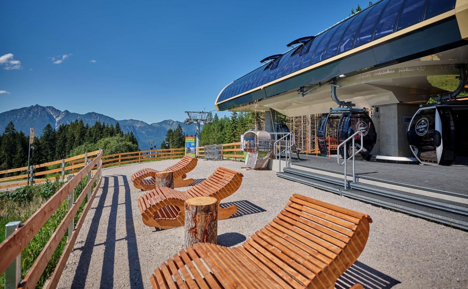Eckbauer mountain station, © Eckbauerbahn - Marc Gilsdorf