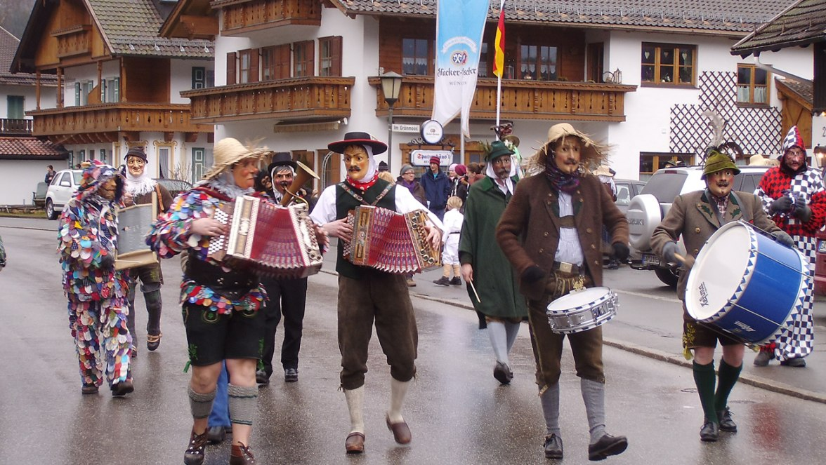 Maschkeramusik, © Tourist Information Grainau