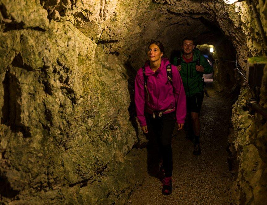 Höllentalklamm Tunnelwege, © Zugspitzdorf Grainau - WEhn