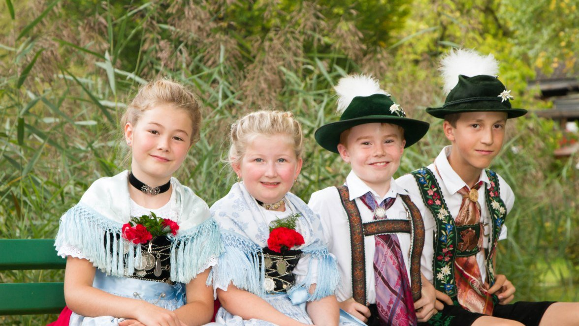 Grainau, Brauchtum, Tradition, Heimatabend, Parkfest, Kinder, © Tourist-Information Grainau