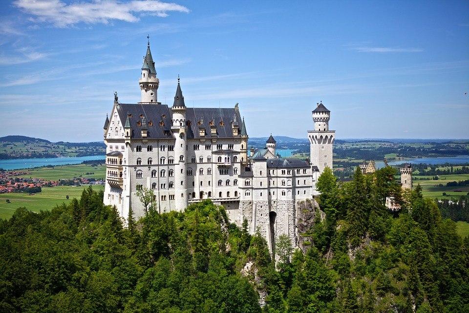 Schloss Neuschwanstein, © Pixabay