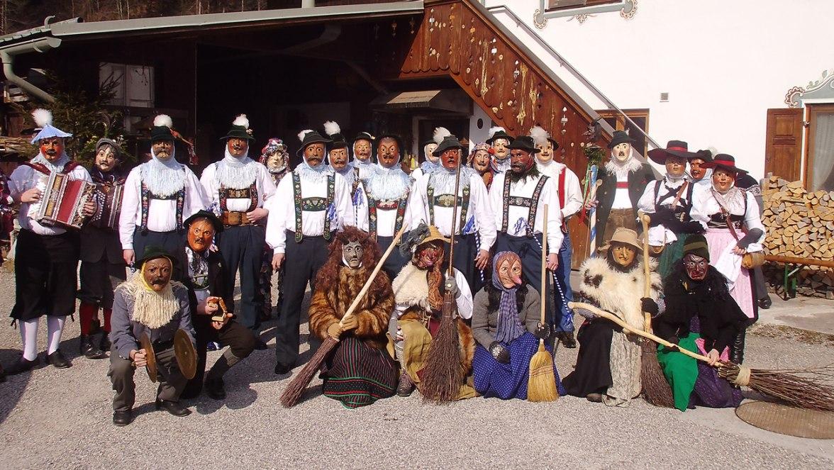 Schellenrührer Gruppenbild, © Tourist Information Grainau