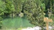 Badersee view to the island, © Touristinformation Grainau