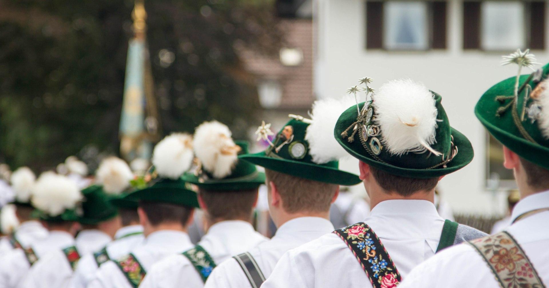 Grainau, Brauchtum, Tradition, Parkfest, © Touristinformation Grainau