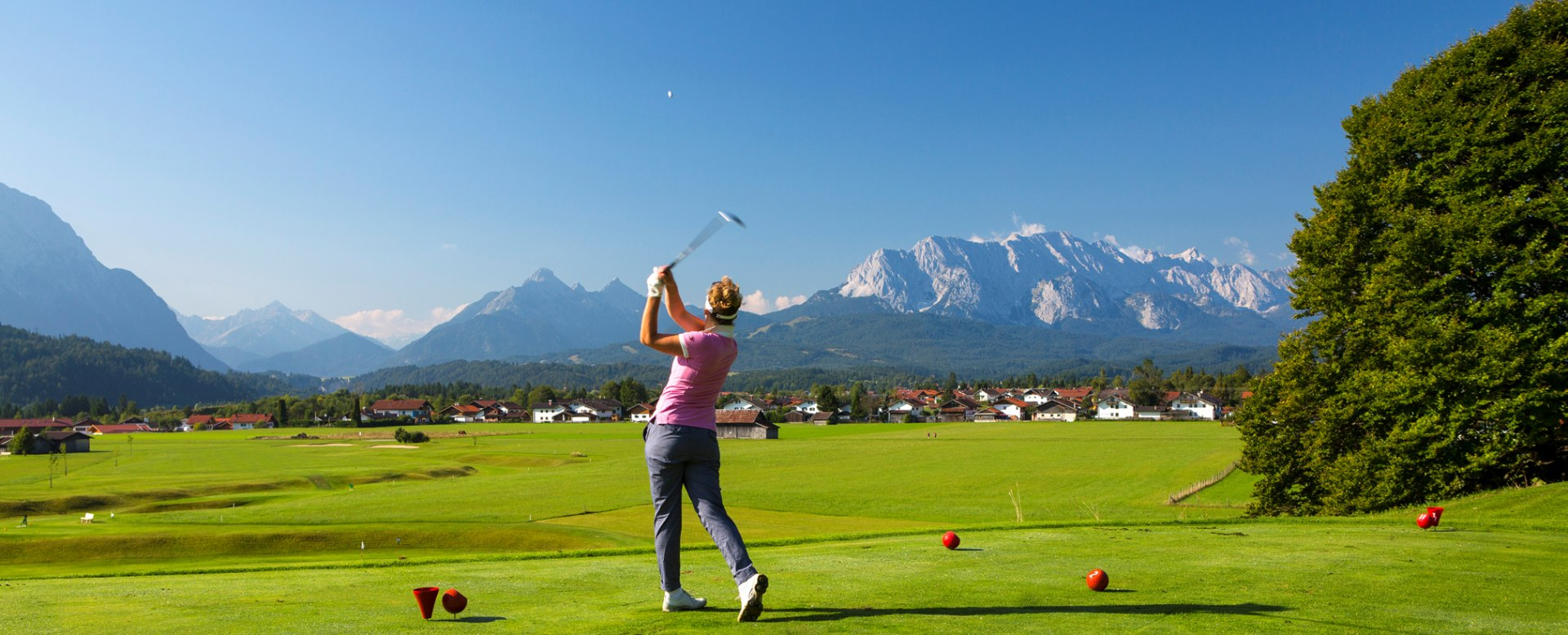 Golfplatz in Wallgau, © Golf- & Landclub Karwendel
