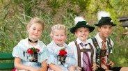 Grainau, Brauchtum, Tradition, Heimatabend, Parkfest, Kinder, © Tourist-Information Grainau