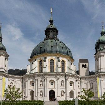 Monestary Ettal, © Ammergauer Alpen GmbH - Foto: Ute Oberhauser