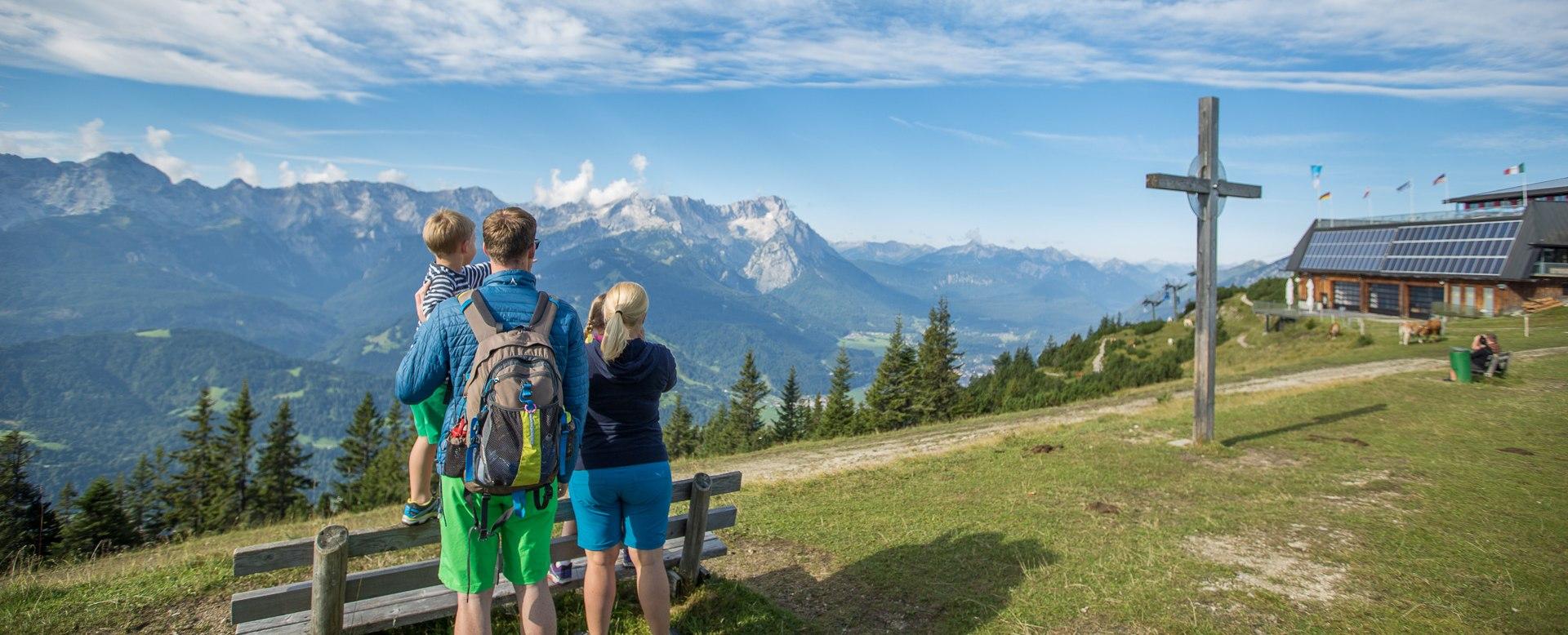 Wank in Garmisch-Partenkirchen, © Zugspitzland