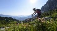 Mountainbiking in Grainau, © Zugspitzregion - Foto Ehn