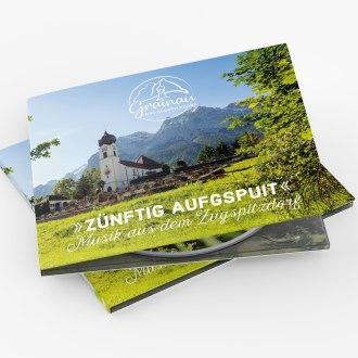 ZÜNFTIG AUFGSPUIT - Musik aus dem Zugspitzdorf, © Tourist-Information/Seidel/neuland.media
