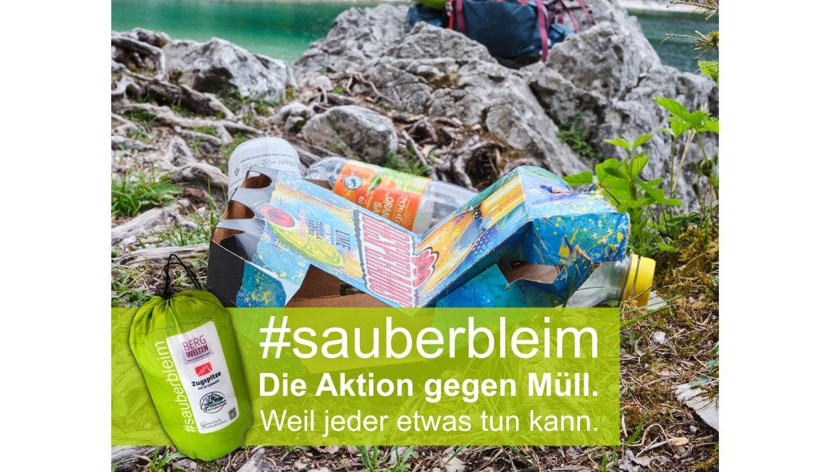 Aktion Sauber bleim - Müllsackerl, © Anton Brey- aktion Sauber bleim