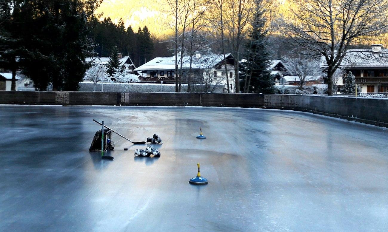 Eisplatz in Grainau, © Tourist Information Grainau