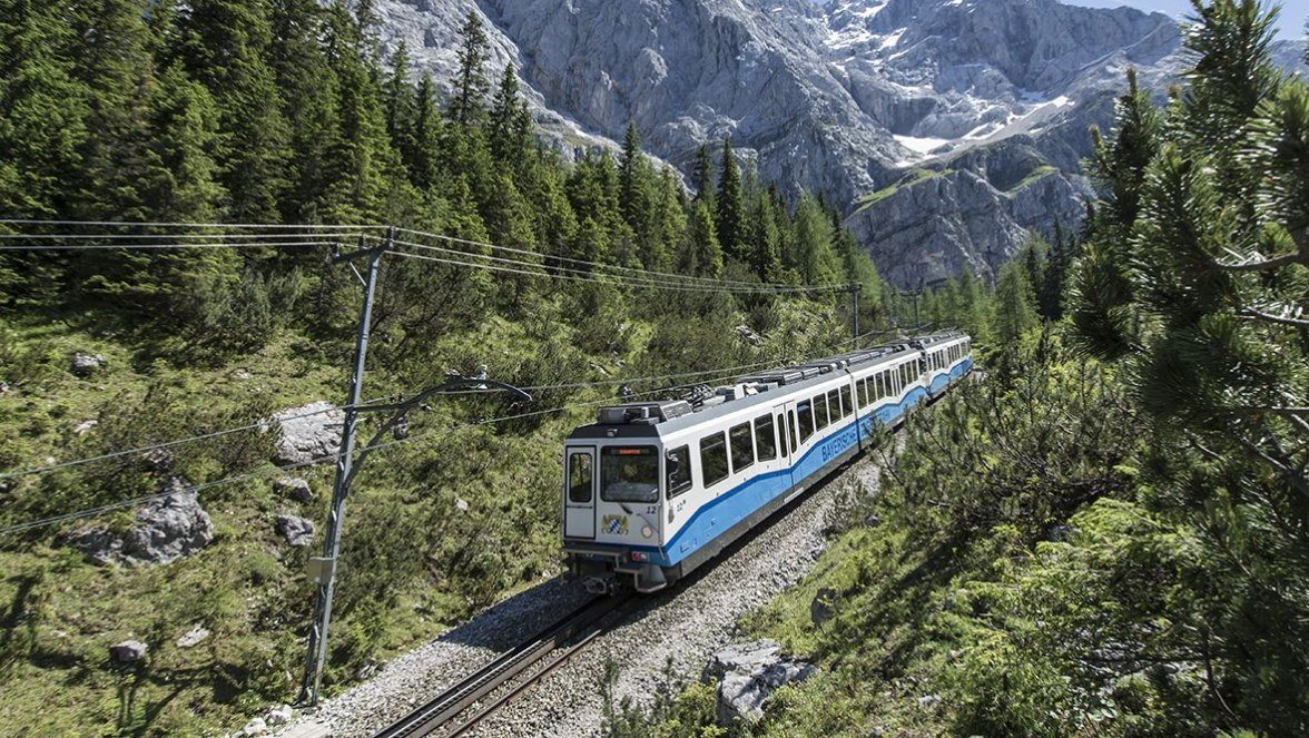 Cogwheel train, Grainau, © Bayerische Zugspitzbahn bergbahn AG, Matthias Fend