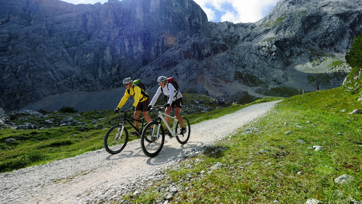 Mountainbiking in Grainau, © Touristinformation Grainau - Foto Ehn