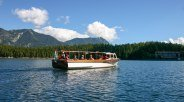 "Excursion boat ""Reserl"" on Eibsee, © Eibsee-Hotel"