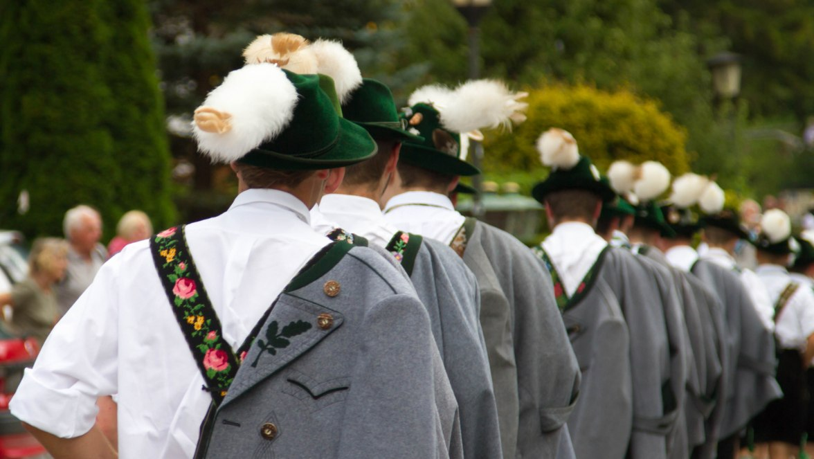 Grainau, Brauchtum, Tradition, Parkfest, © Touristinformation Grainau