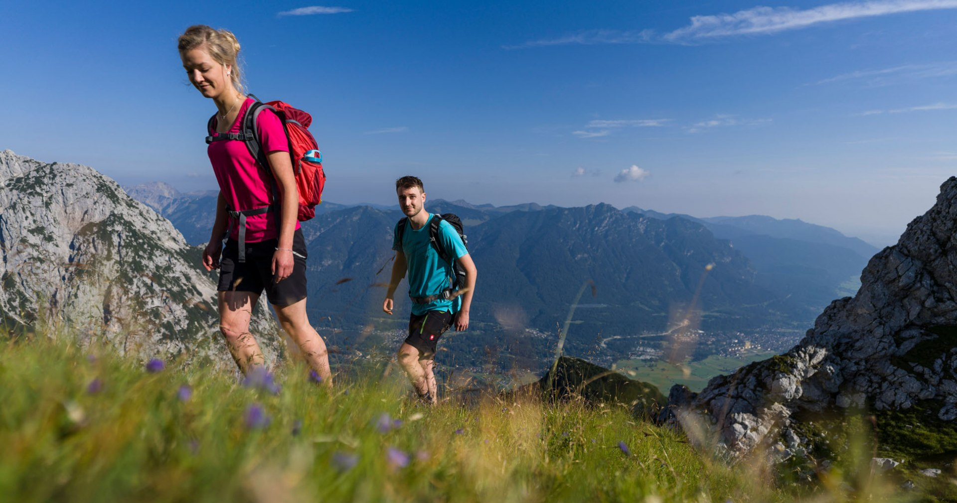 Bergsteiger, © Zugspitzdorf Grainau - WEhn