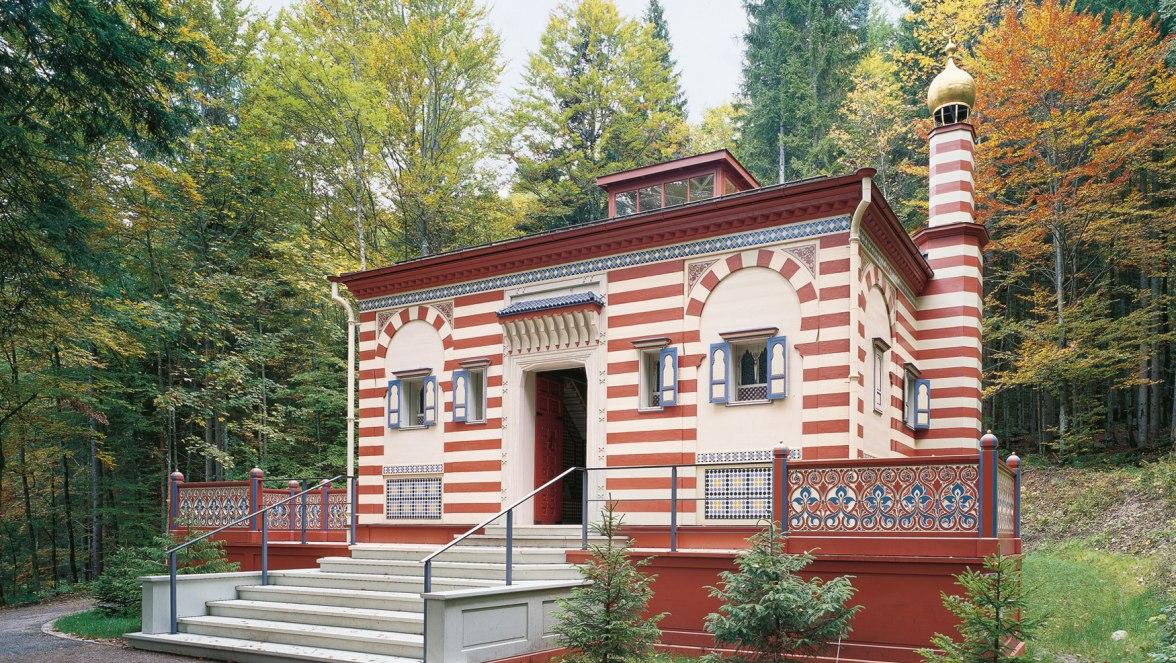 Linderhof Palace Park Moroccan house, © Bayerische Schlösserverwaltung