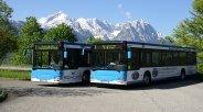 Eibseebus in Grainau, © MTBD GmbH