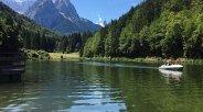 Riessersee in Garmisch-Partenkirchen, © Petra Vogt