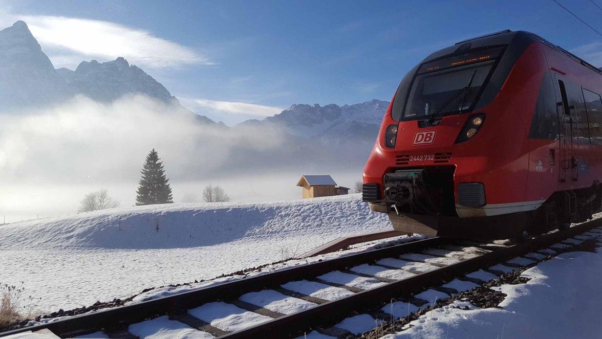 Zug Leermoos Express, © N. Fischer