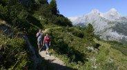 Wandern Hochalpin in Grainau, © Zugspitzregion - Foto Ehn