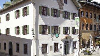 Front view Heimatmuseum, © Landkreismuseum Garmisch-Partenkirchen
